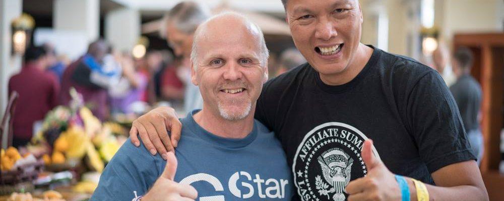 John Chow and Malcolm Pollard