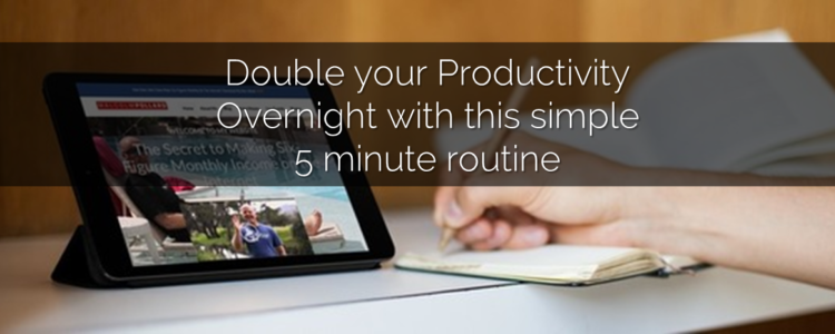Double your productivity overnight